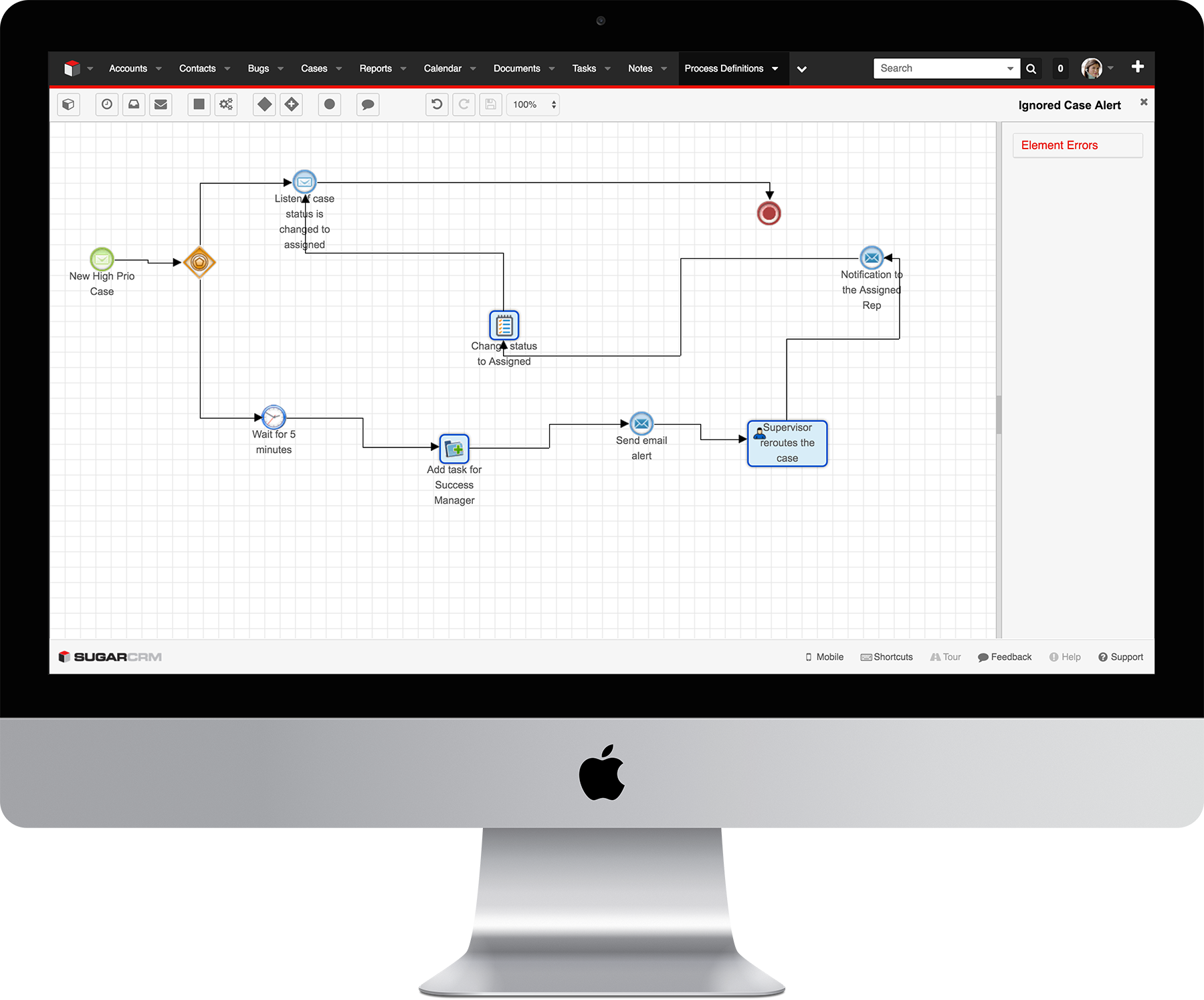 SugarCRM Demo - Advanced Workflow