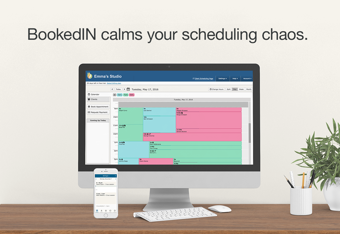 BookedIN Demo - BookedIN appointment scheduling