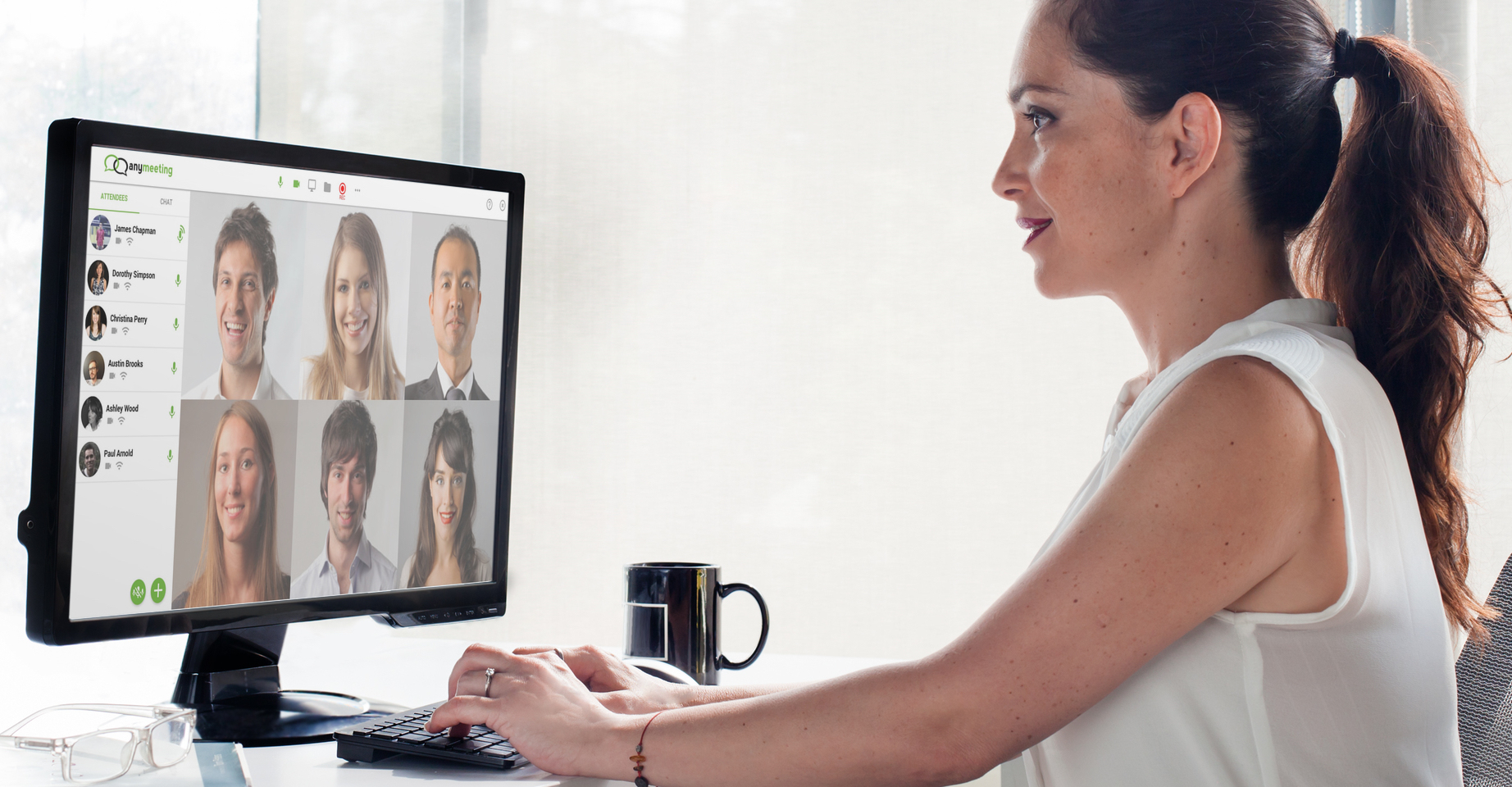 Anymeeting Video Conferencing Demo - Simple and easy video conferencing with no downloads