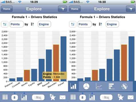 Iphone sap business objects explorer2