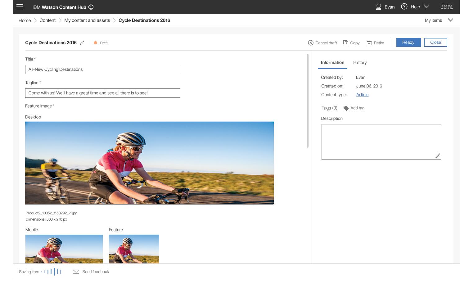 IBM Watson Content Hub Demo - Content+Item.png