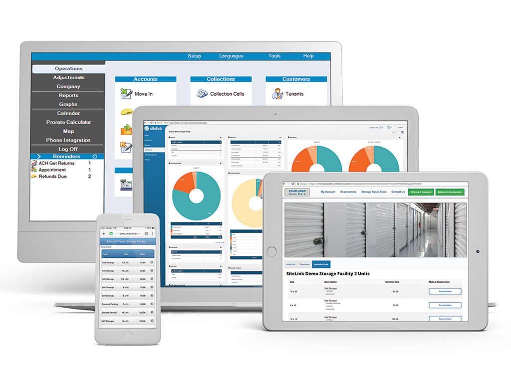 SiteLink Web Edition Demo - SiteLink Self-Storage Management Software