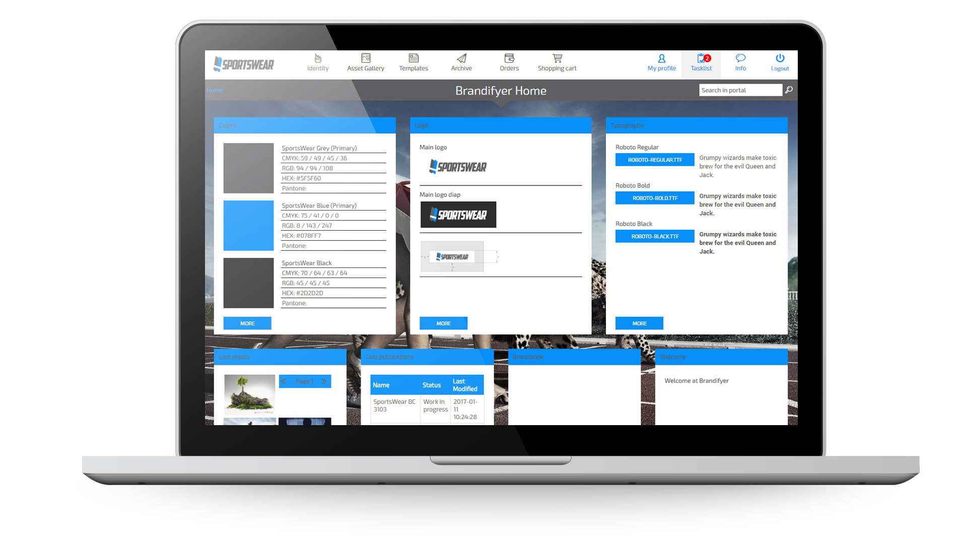 Brandifyer Demo - Macbook+home+Dashboard.jpg