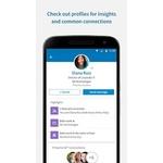 LinkedIn Sales Navigator Mobile Apps Screenshot