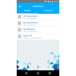 Nuxeo Platform Mobile Apps Screenshot