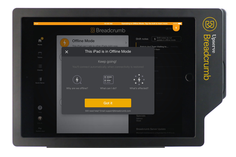 Breadcrumb Restaurant POS Demo - Offline Mode