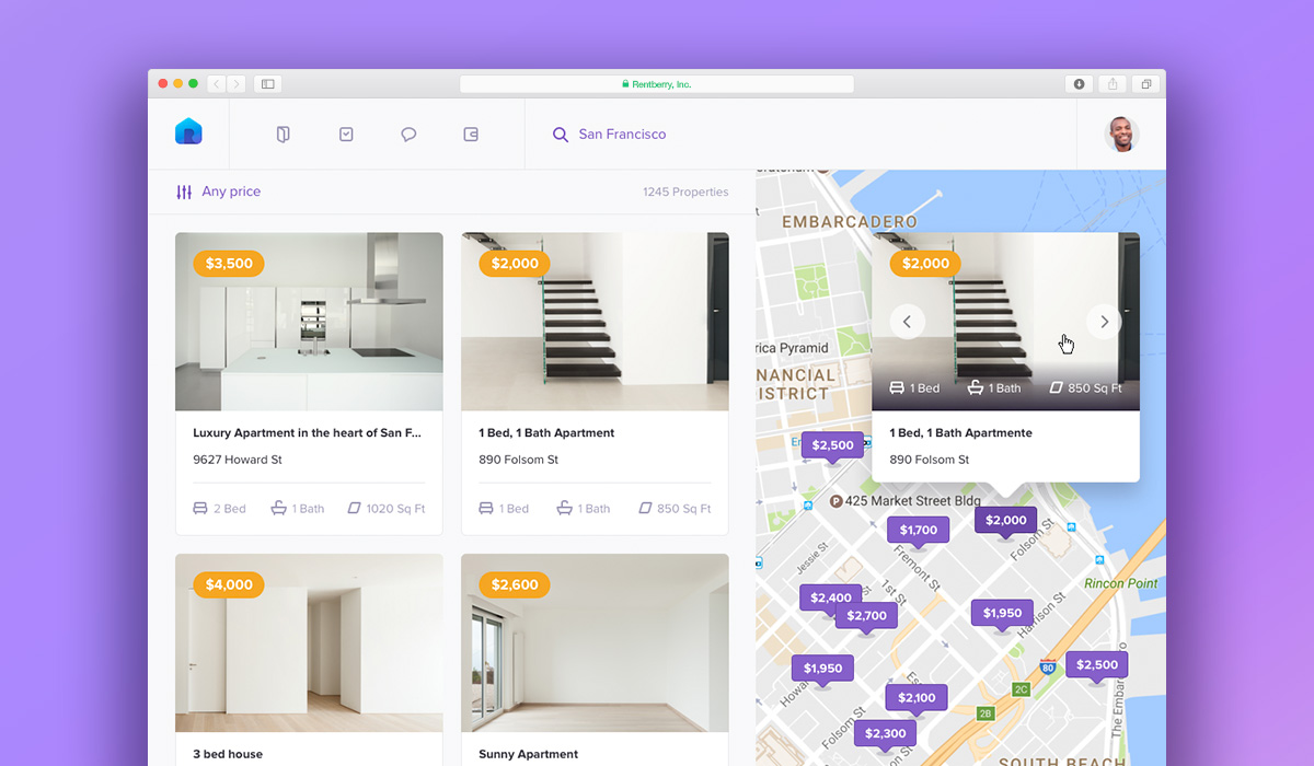 Rentberry Demo - Rentberry Search