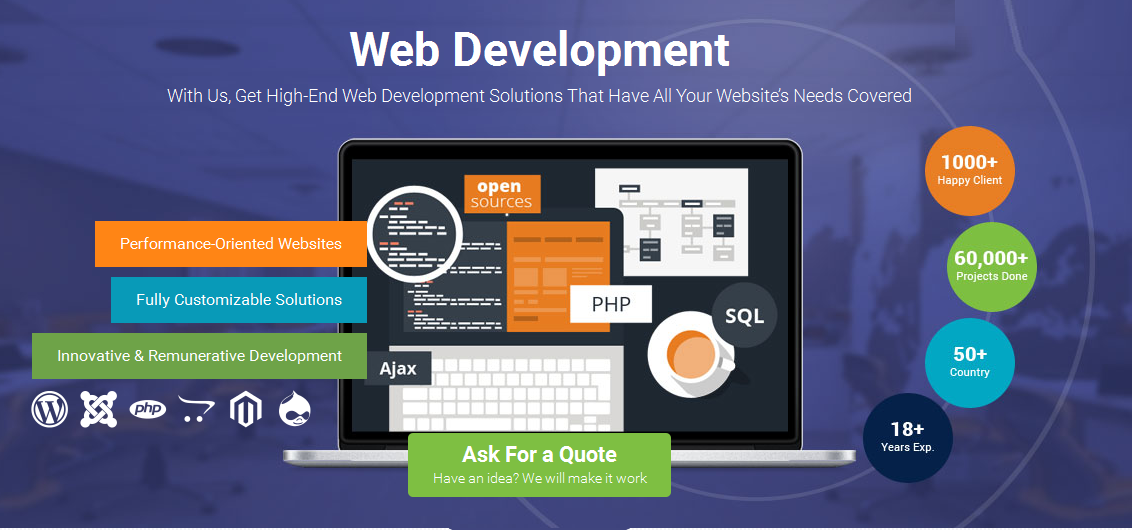 WeblinkIndia.Net Demo - Website Development Company India