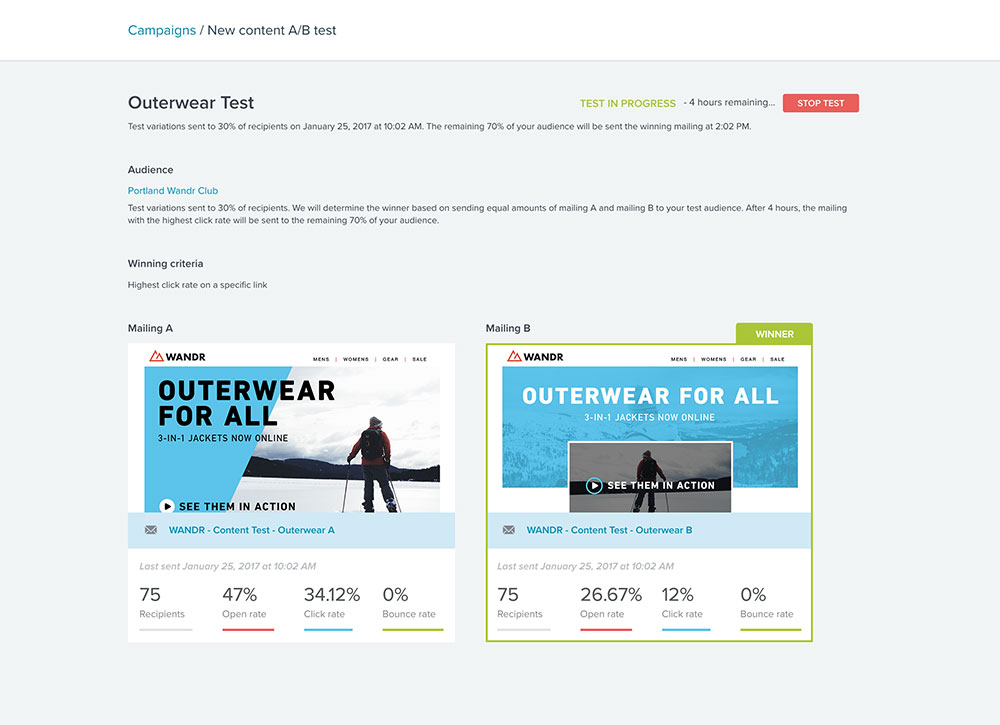 Emma Demo - A/B Content Testing: Taking the guesswork out of your marketing