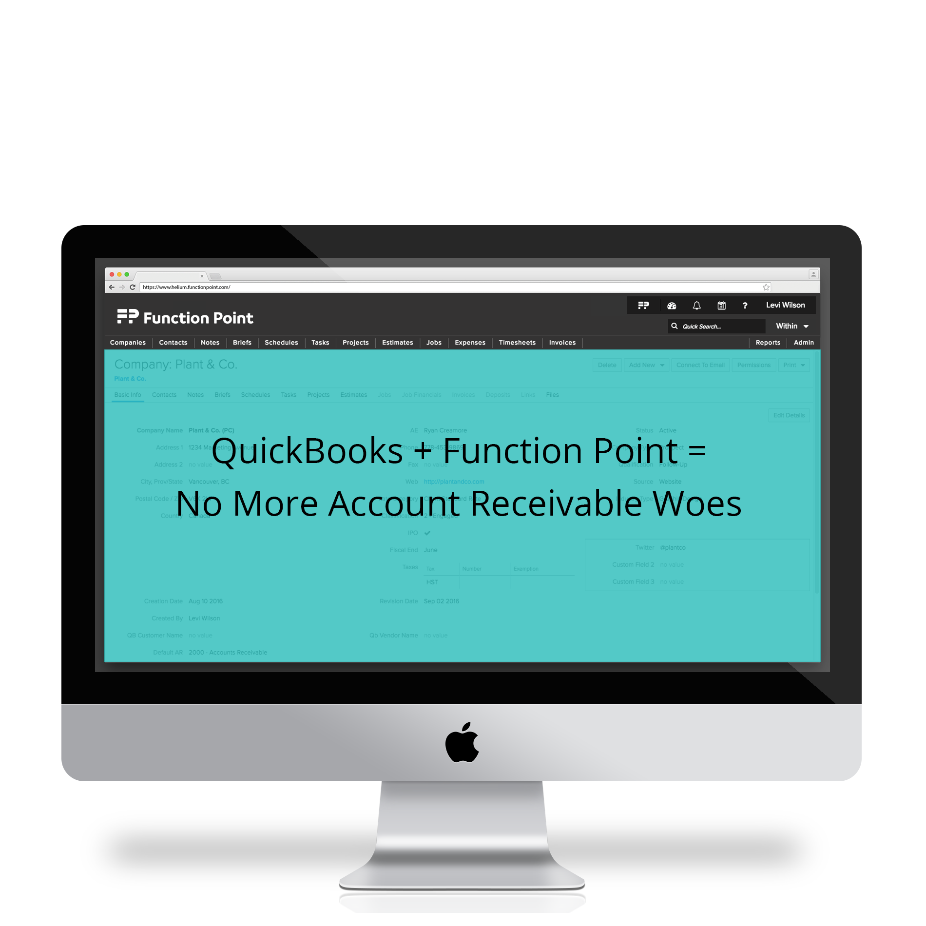 Function Point Demo - Seamless Quickbooks Integration