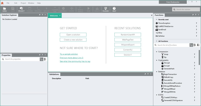 Linx Demo - Linx-StartScreen.png