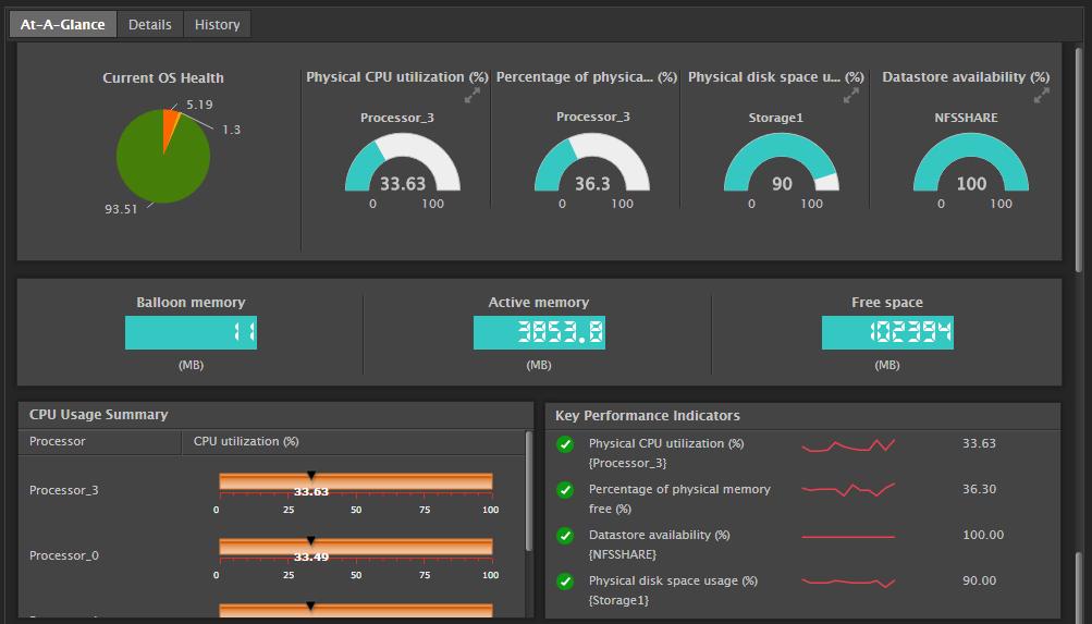 eG Enterprise Demo - Server Monitoring