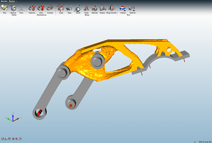 Altair Inspire Demo - solidThinking Inspire Optimization
