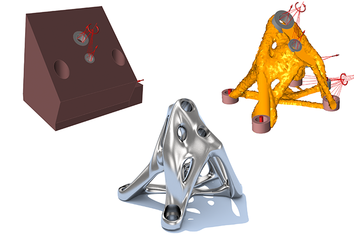 Altair Inspire Demo - solidThinking Inspire Optimization Process