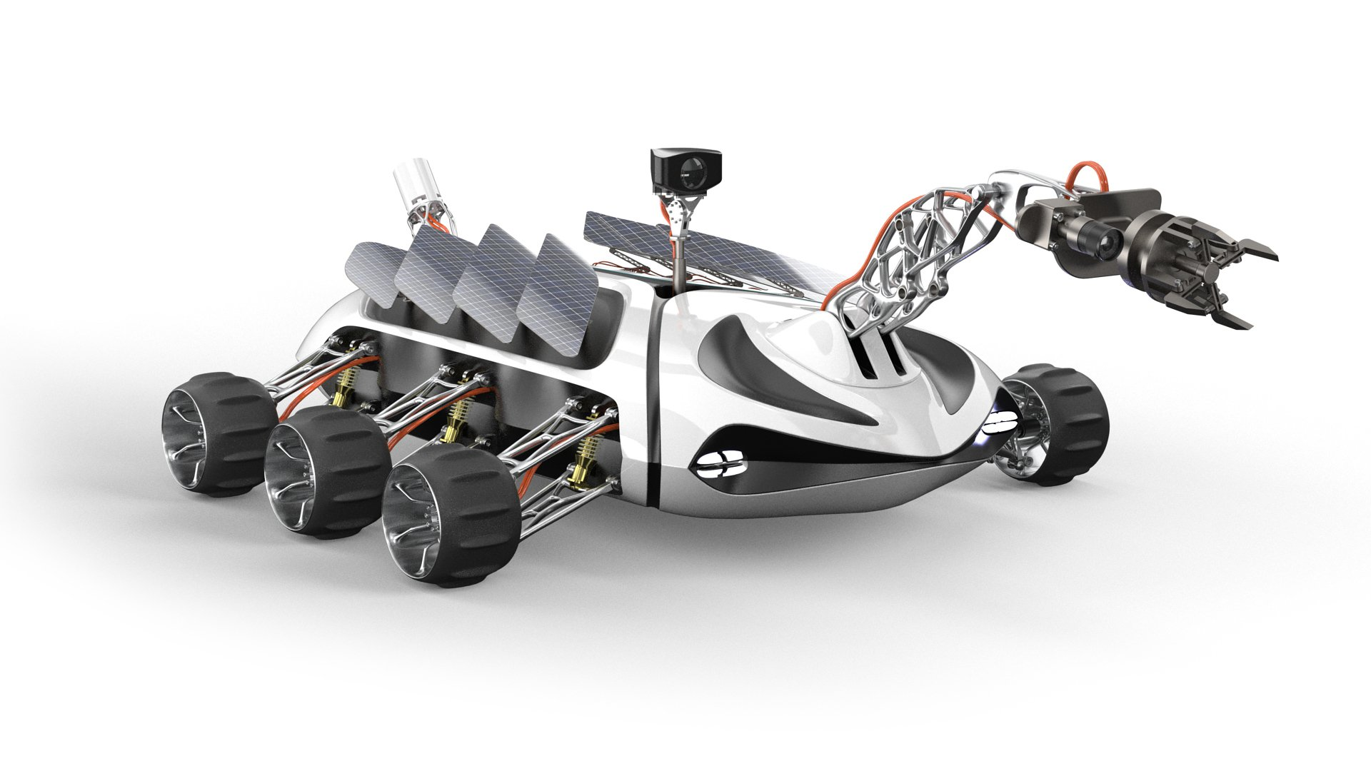 Altair Inspire Demo - solidThinking Inspire Optimized Rover