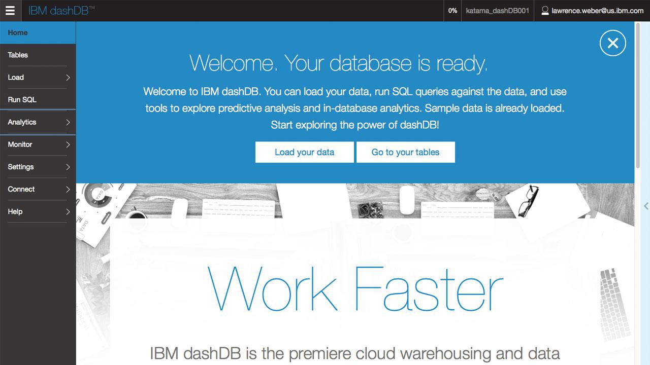 IBM dashDB Demo -