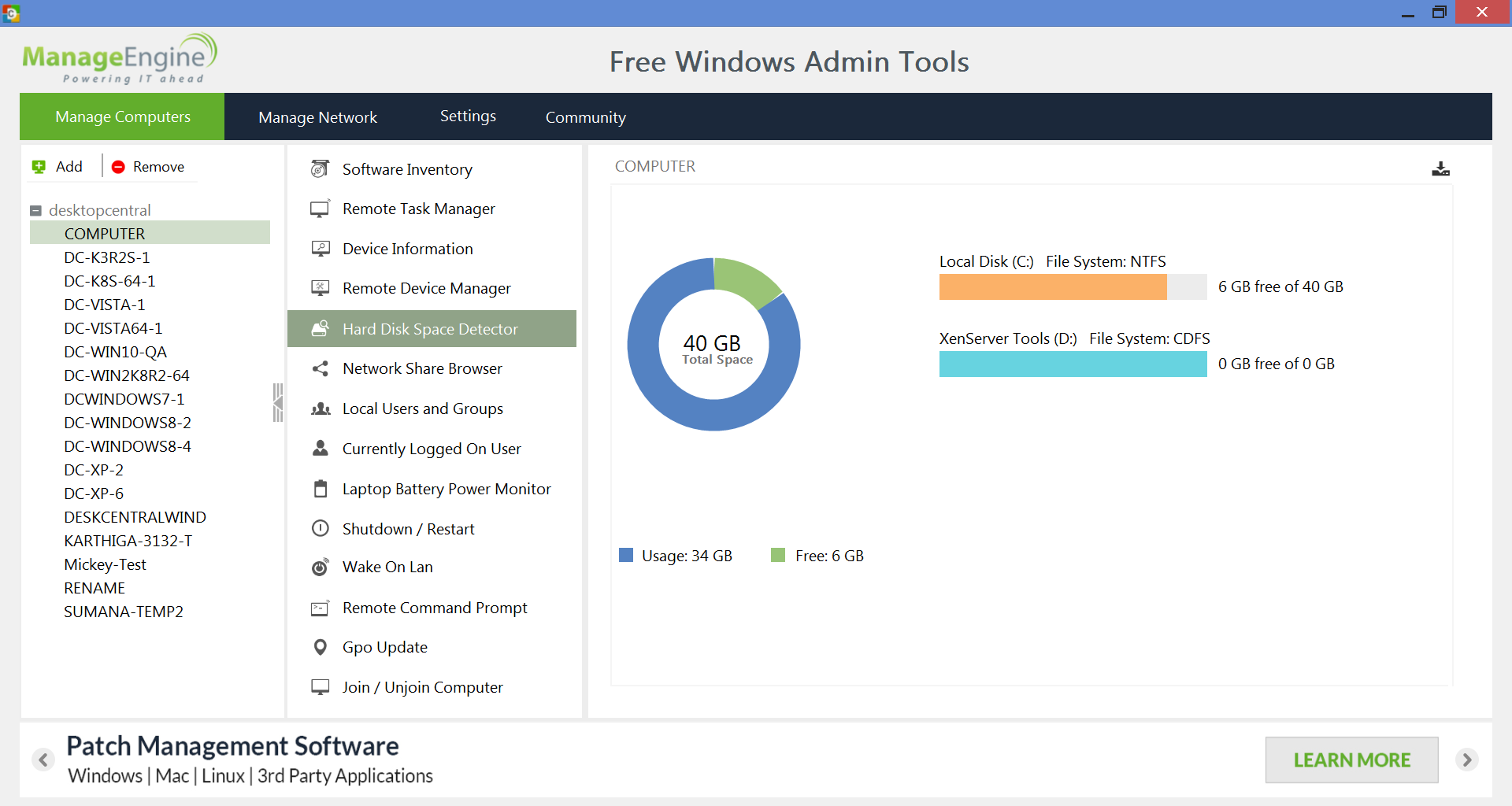 Manageengine free windows admin tools g2 crowd - Best free office software for windows 7 ...