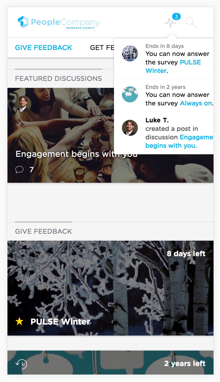 Questback Demo - Mobile View - Questback Screenshot