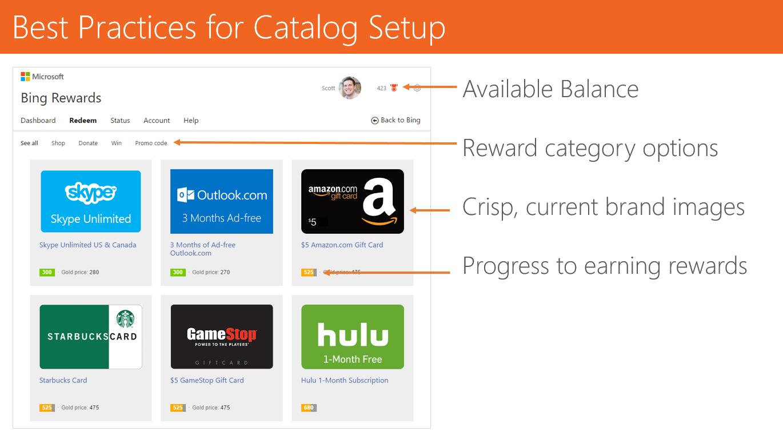 Tango Card Demo - API Integration Catalog Best Practices