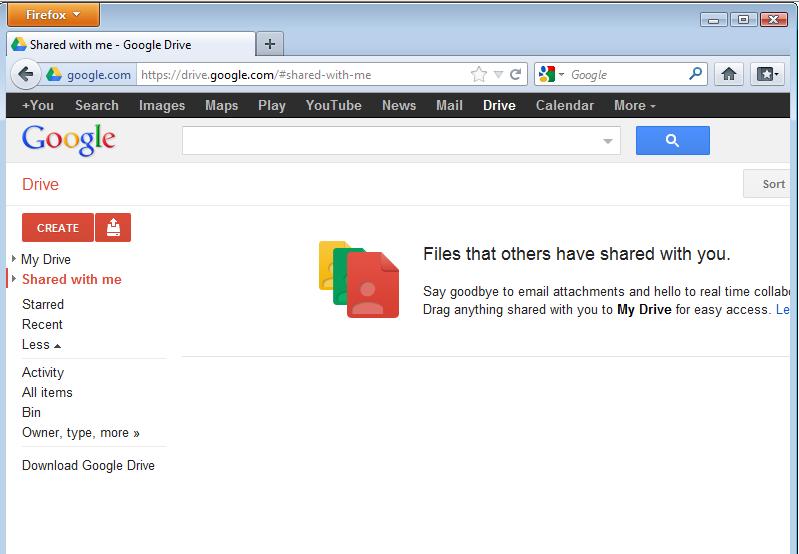 Google Drive Demo -
