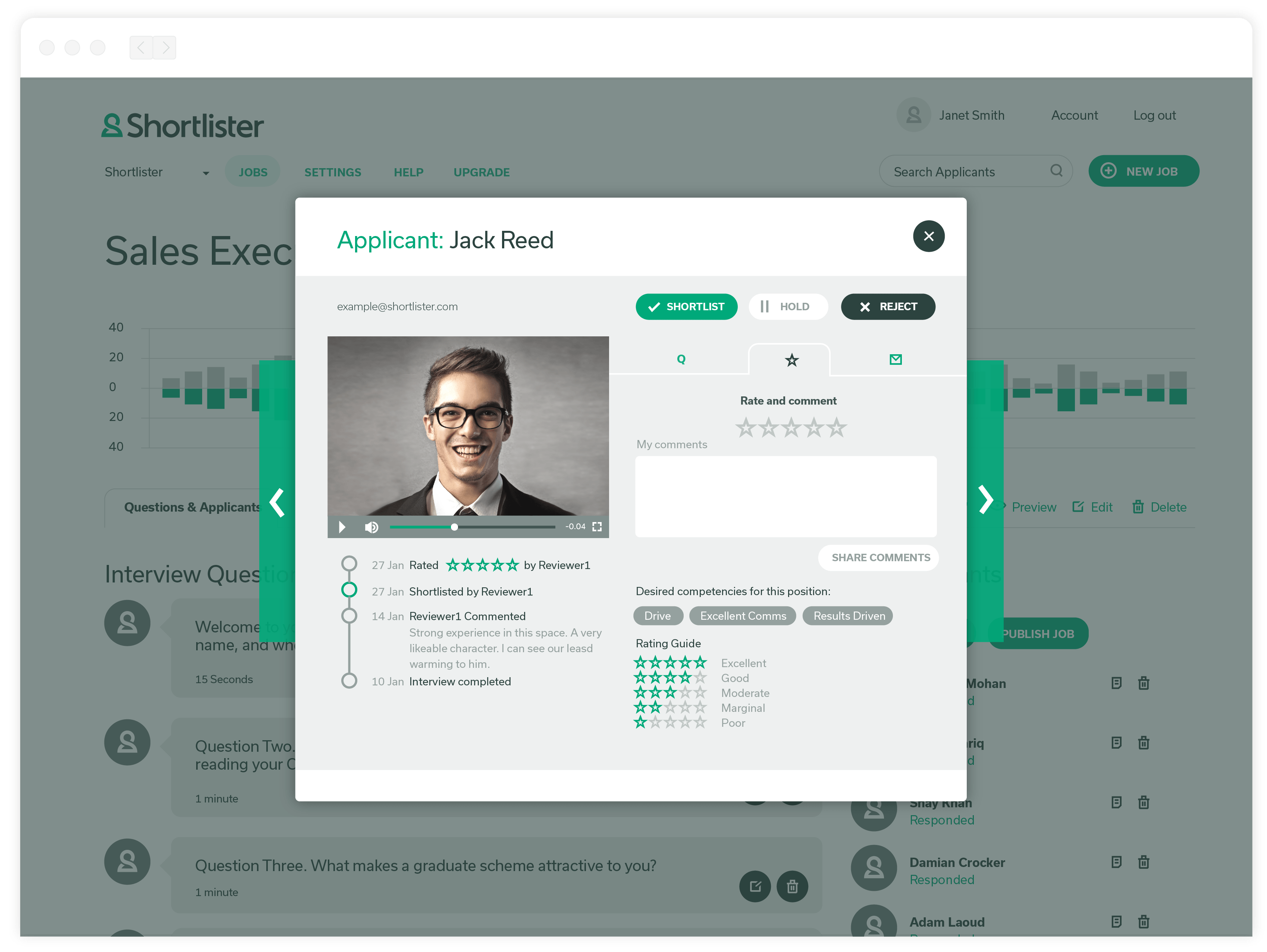 Shortlister Demo - Colllaborative Review Made Easy