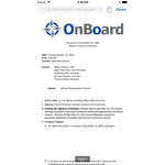 OnBoard  Board Portal Mobile Apps Screenshot