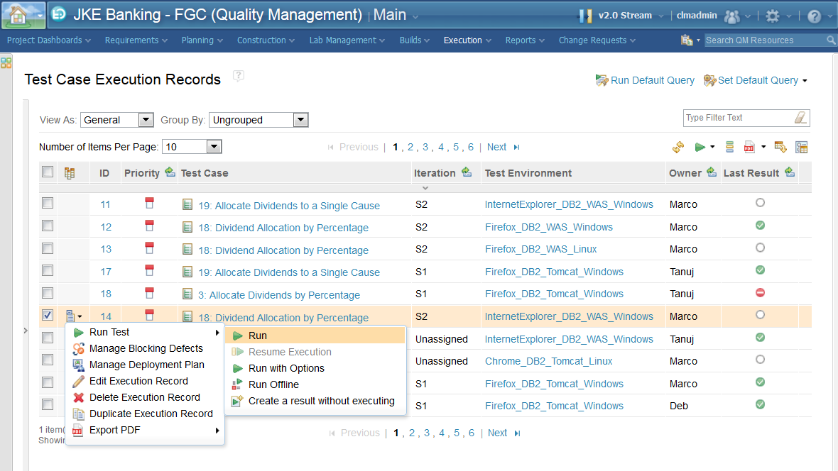 IBM Rational Quality Manager Demo -