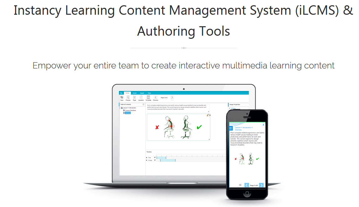Learning Content Management System(LCMS) Demo - Learning Content Management System and Authoring Tools