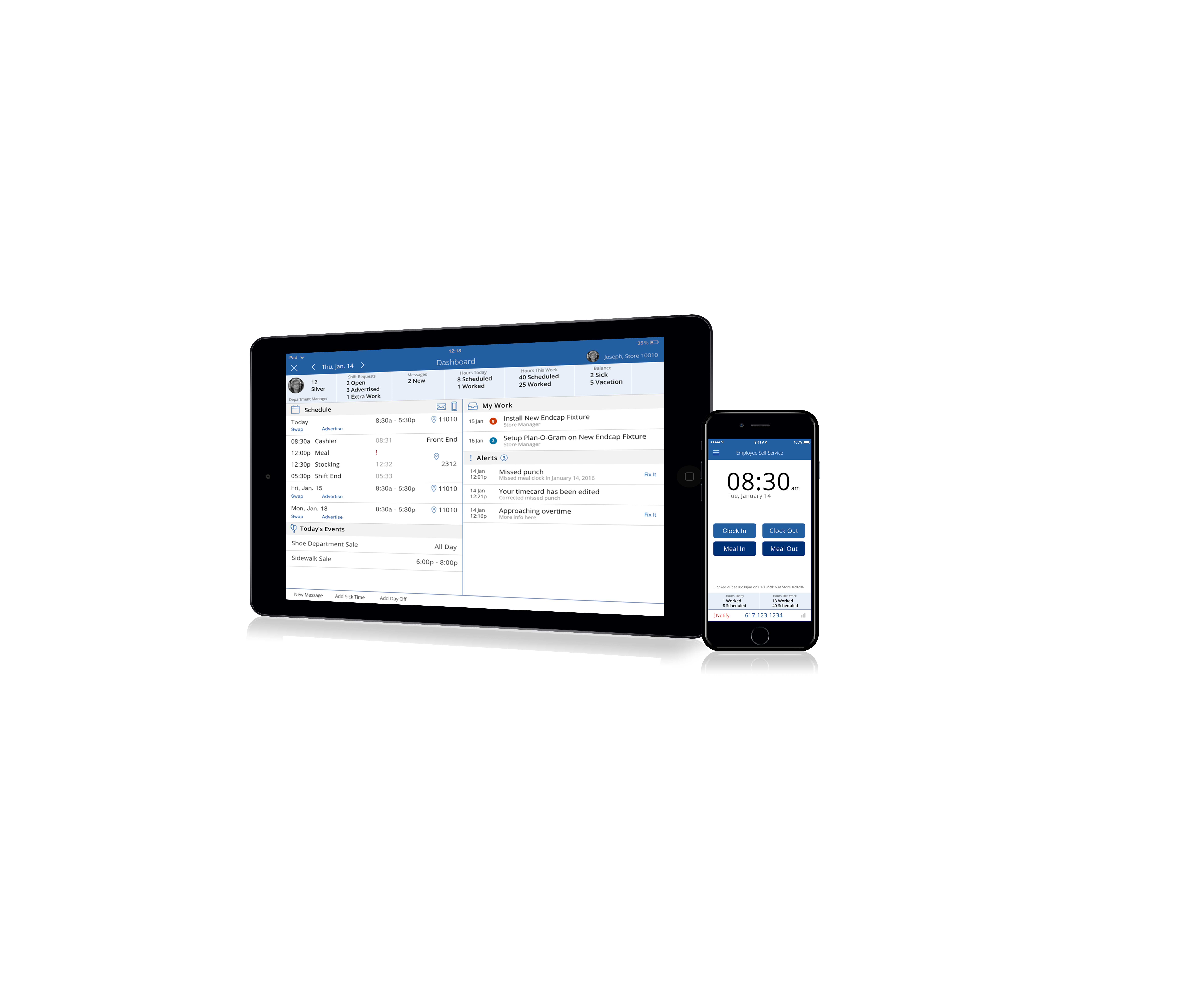 Reflexis Time and Attendance™ Demo - Reflexis Time and Attendance Software
