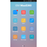 IBM MaaS360 Mobile Apps Screenshot