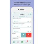 Assembla Mobile Apps Screenshot