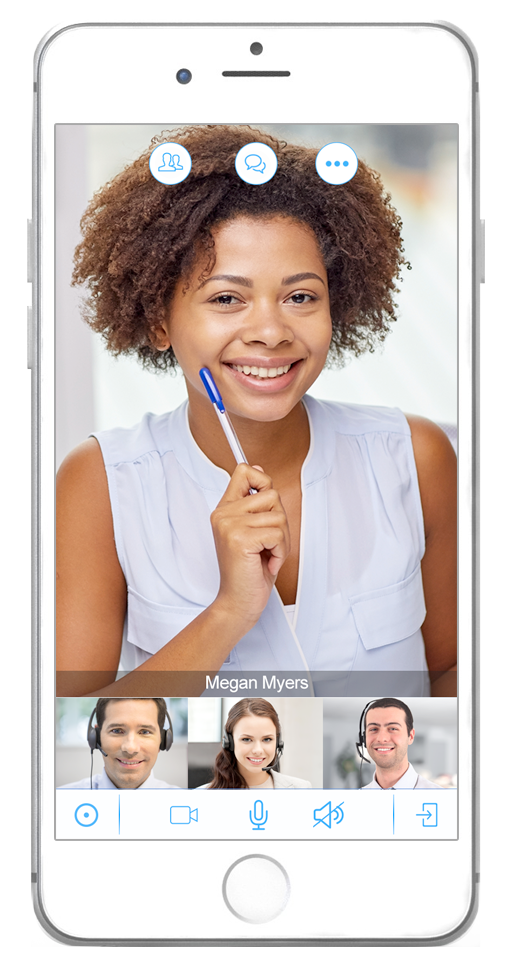 8x8 Virtual Office Demo - Virtual-Meeting-iPhone6.png