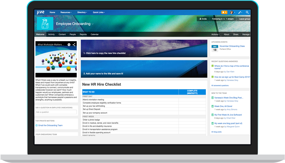 Jive-n Demo - Get Straight to Business with Jive's simple, turnkey intranet solution