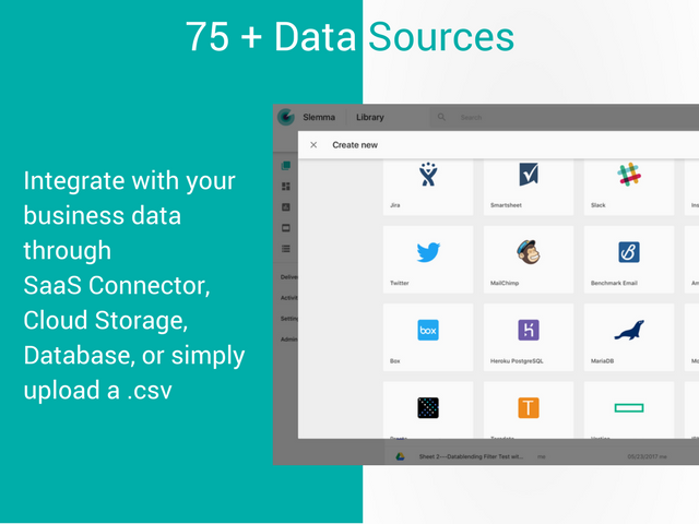 Slemma Demo - Integrate with your Data Sources