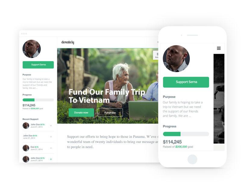 Donately Demo - Peer-to-Peer Fundraising