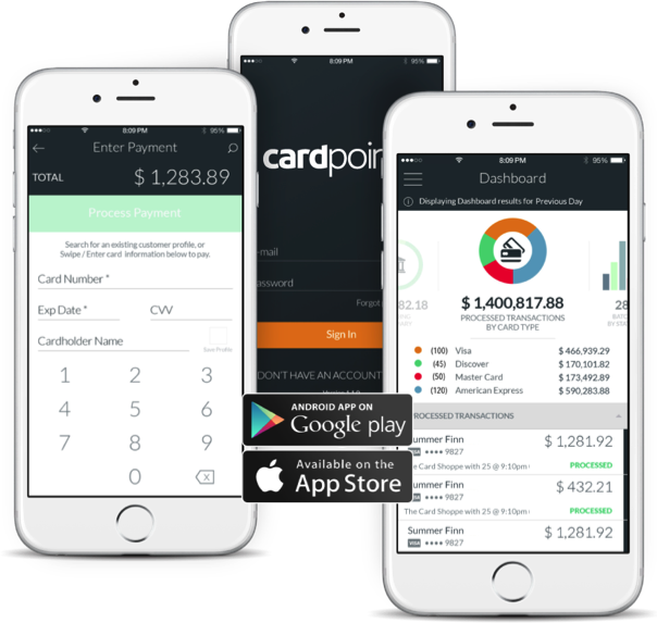 CardConnect Demo - CardPointe Mobile App