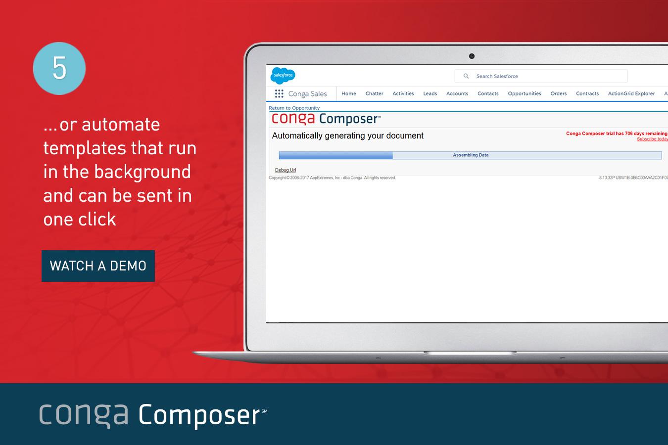 Conga Composer Demo - Template Automation