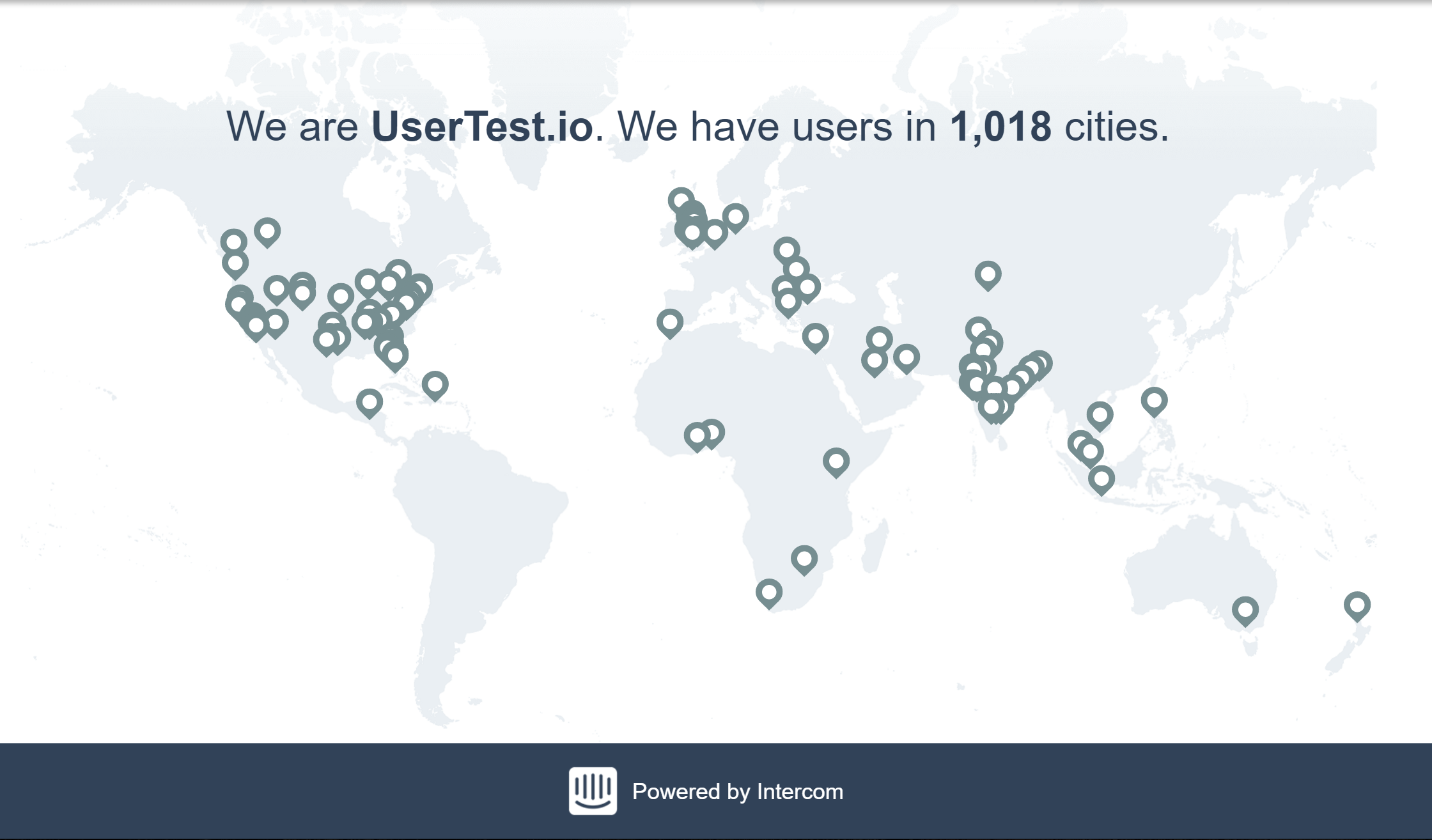 UserTest.io Demo - Our Users