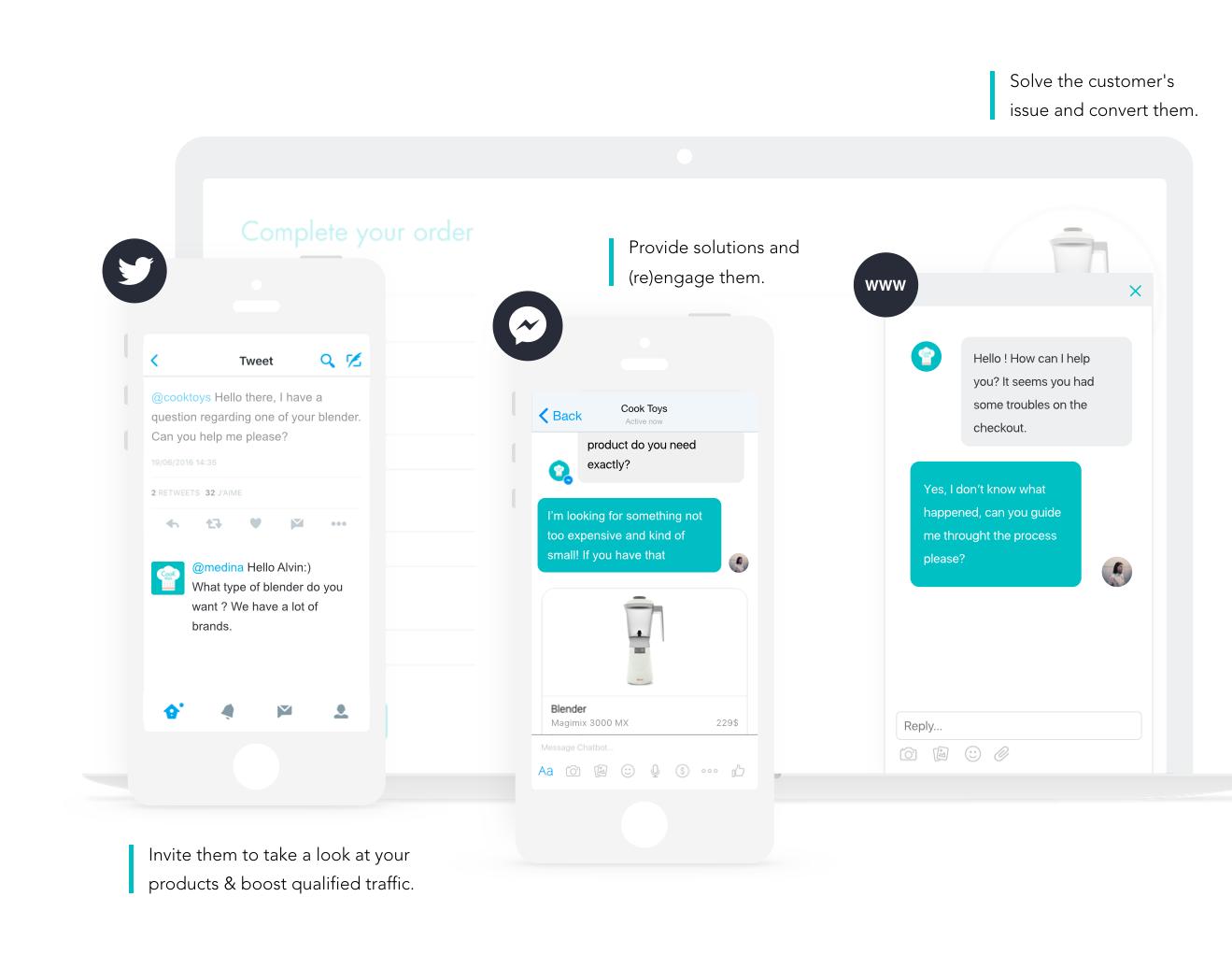 iAdvize Demo - Customer interface