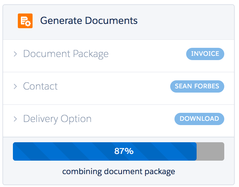 Nintex Document Generation for Salesforce Demo - Document Generation