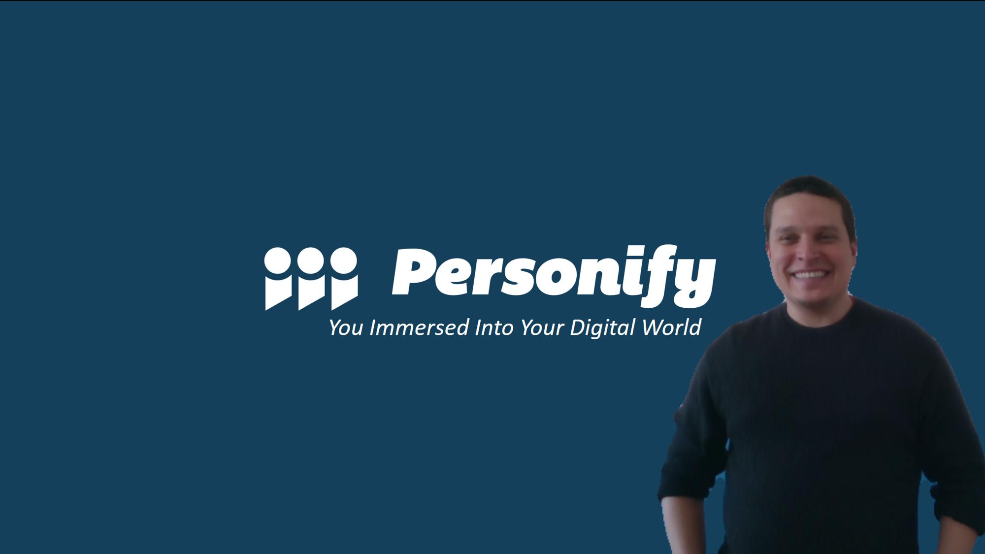 ChromaCam Demo - Persona on Title Slide