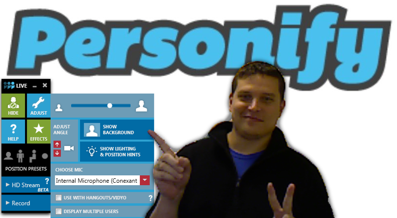 ChromaCam Demo - Background Removed
