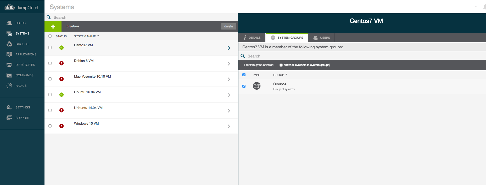 JumpCloud Directory-as-a-Service Demo - JumpCloud - Screenshot 2