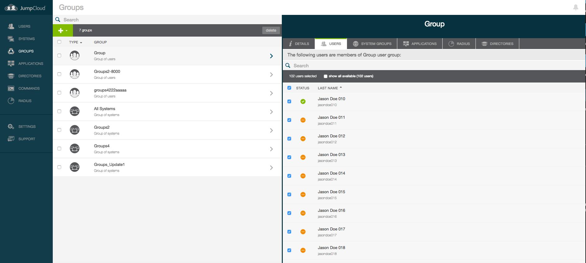JumpCloud Directory-as-a-Service Demo - JumpCloud - Screenshot 4