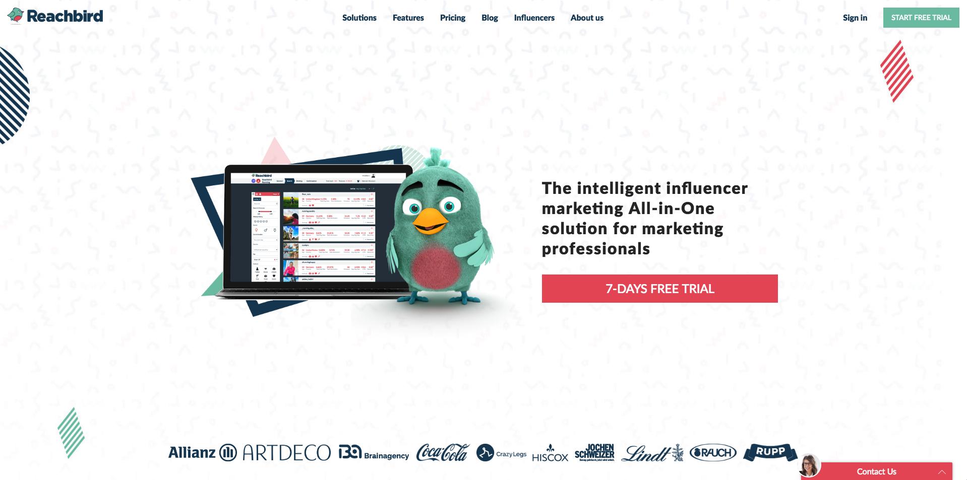 Reachbird Demo - Reachbird Website