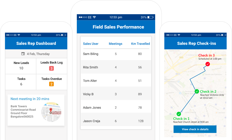 LeadSquared CRM Demo - Simple Mobile CRM to Run Your Entire Field Sales Operations