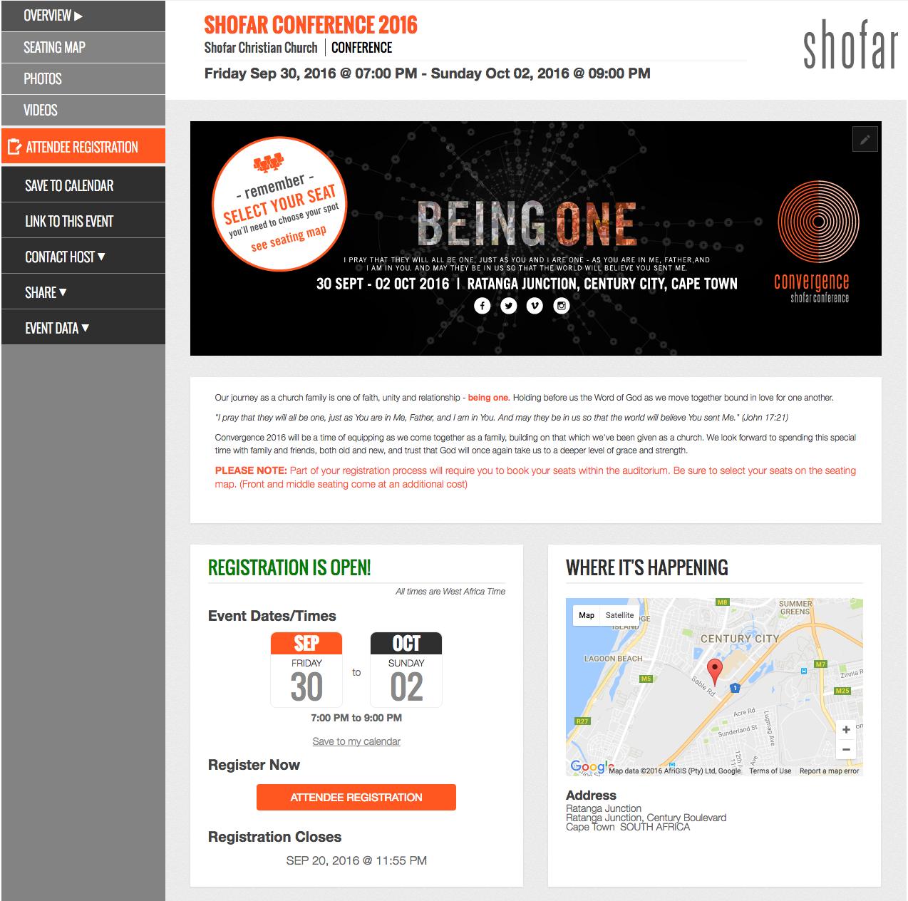 Eventsquid Demo - Sample event website