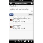 Pega Customer Engagement Suite Mobile Apps Screenshot
