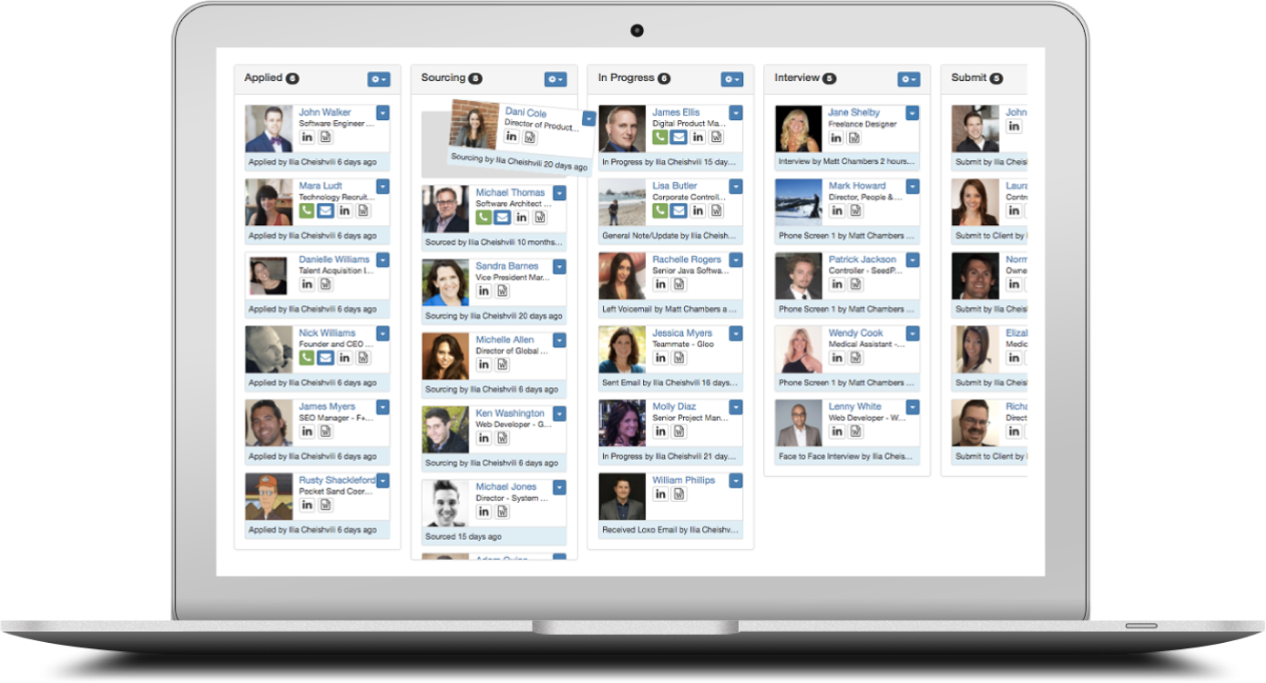 Loxo Recruitment Platform Demo - Loxo Recruitment ATS & CRM