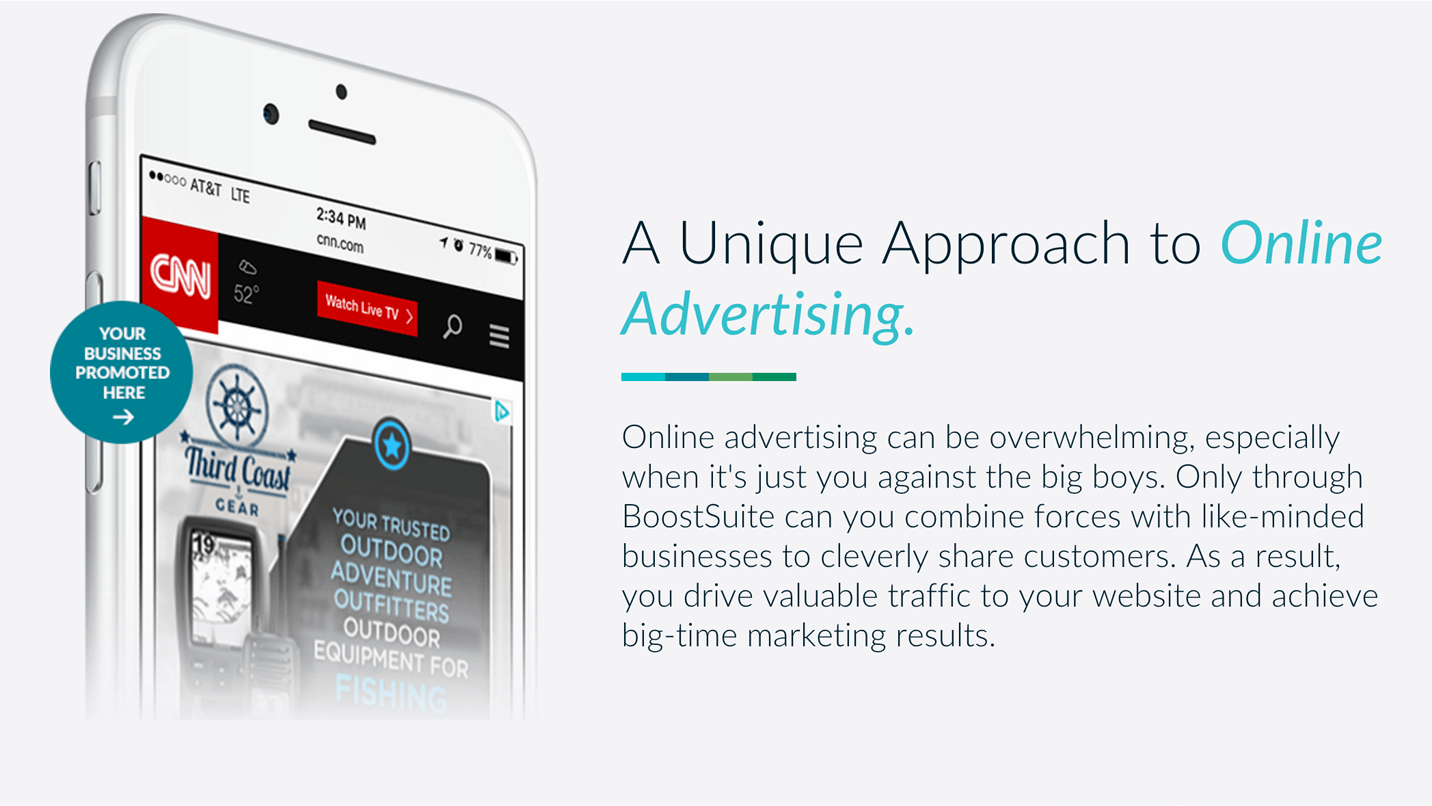 BoostSuite Demo - A Unique Approach to Online Advertising